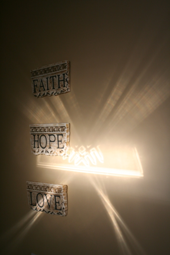 Faith, Hope, Love & Sunbeam 1-30-12