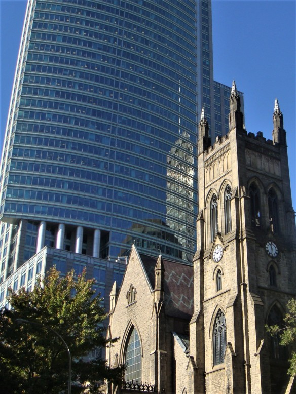 Montreal Church & High Rise