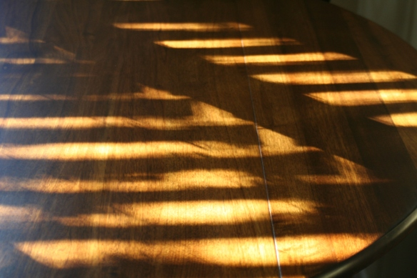 Sunlight Thru Kitchen Window Slats 2-11-12 a